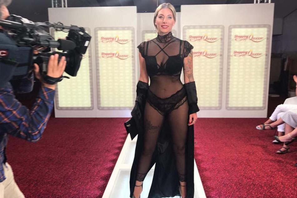Mit diesem mutigen Outfit gewann Anne schon im Sommer, qualifizierte sich damit für das gestrige Jahres-End-Finale.
