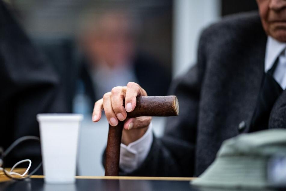 Vor Gericht behauptete der 95-jährige Angeklagte, dass er keine Toten im KZ gesehen habe.