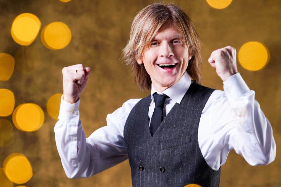 John Kelly (52) wird das Tanzbein schwingen, auch wenn er ein Konzert vorher noch absolvieren muss.