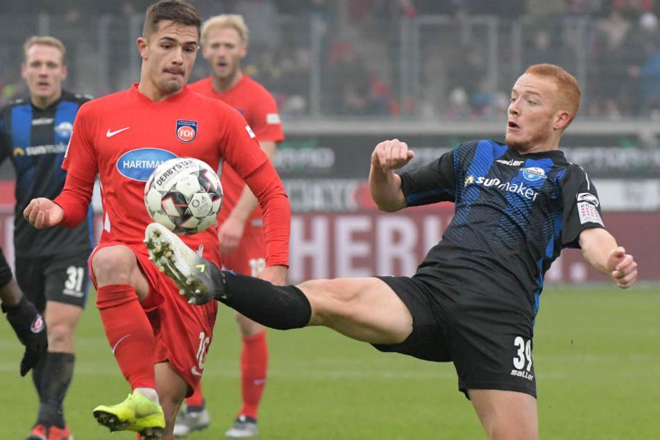 Ob Sebastian Vasiliadis gegen Bielefeld von Beginn an auflaufen wird, ist fraglich.