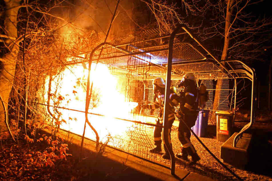 In der Kleinstadt häufen sich Brandstiftungen und beschädigte Autoreifen.