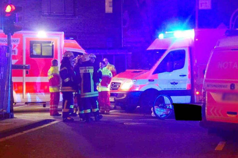 Der Radfahrer starb noch am Unfallort.