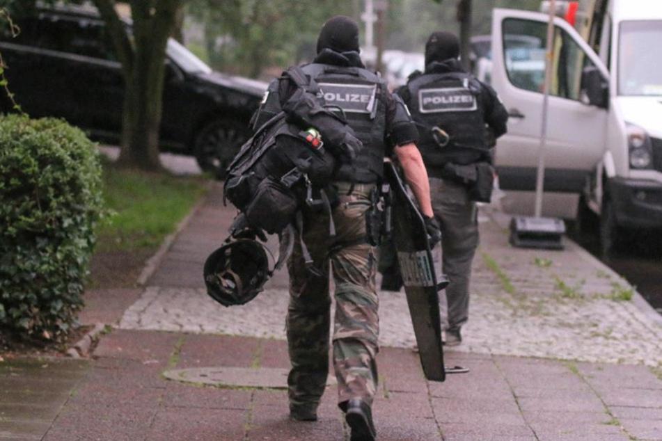 SEK-Beamten konnten die Situation schnell unter Kontrolle bringen.