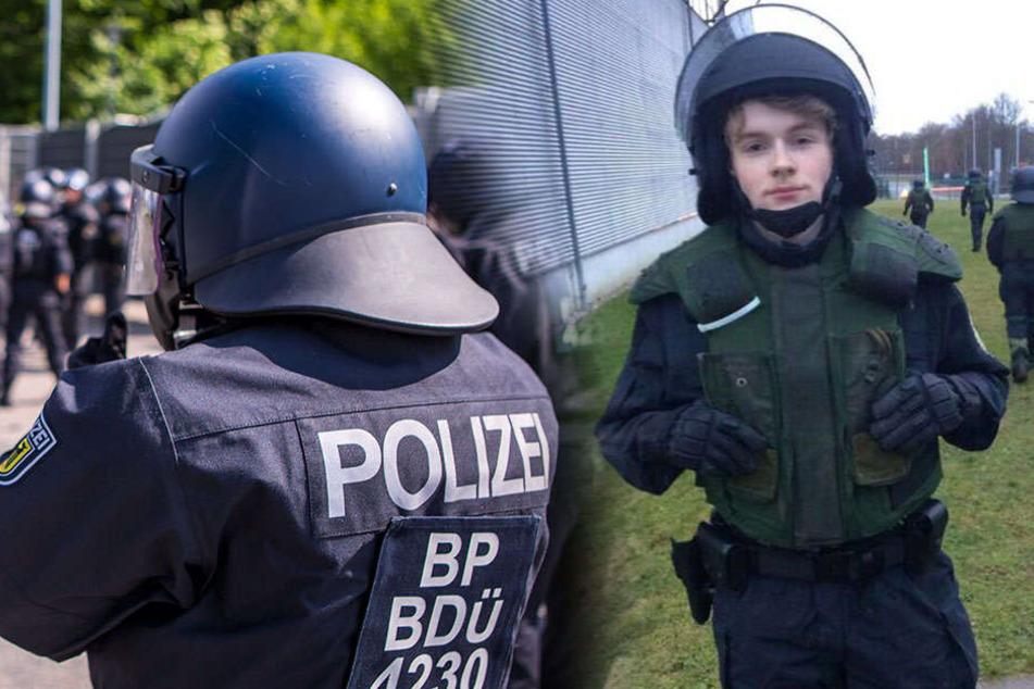 Nazi-Musik und Rassisten-Sprüche bei Sachsens Bereitschaftspolizei