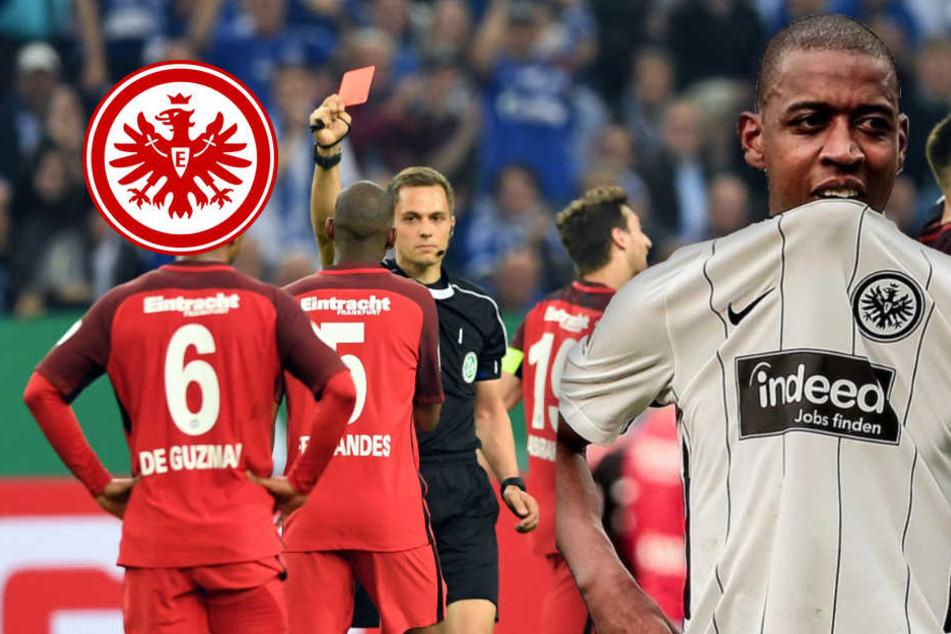 """""""Sohn einer Affen-Schlampe""""! Böse Rassismus-Attacke gegen Eintrachts Fernandes"""