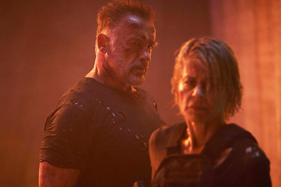Linda Hamilton und Arnold Schwarzenegger kehren in ihre Kultrollen als Sarah Connor und Terminator T-800 zurück.