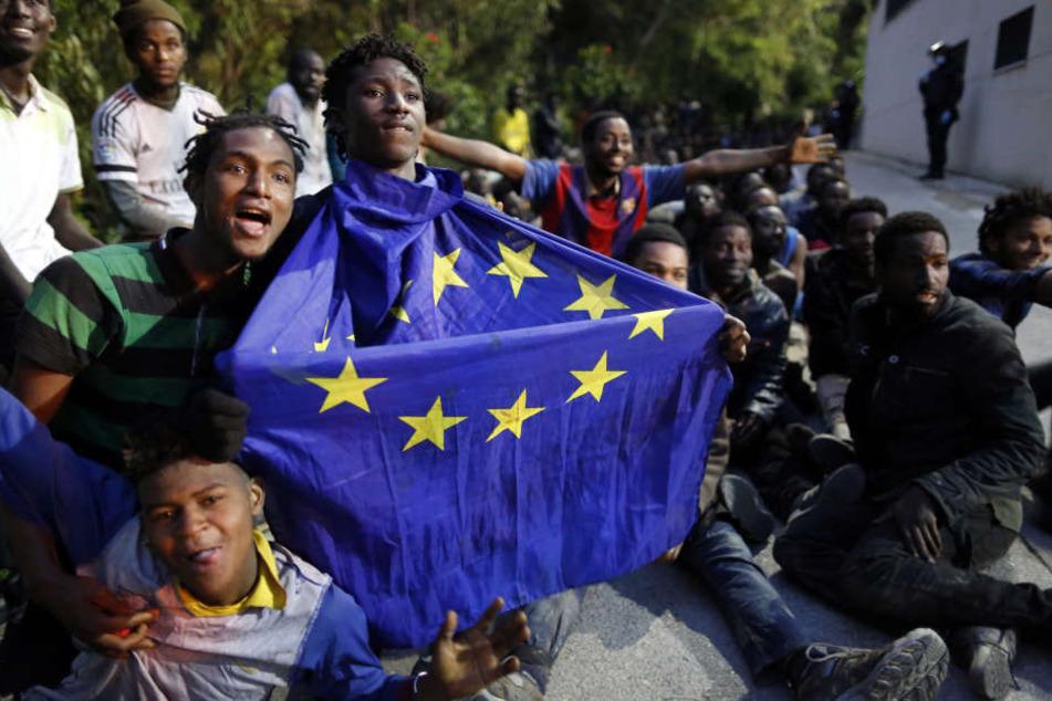 Die spanische Exklave Ceuta ist das Ziel Zehntausender notleidender Afrikaner, die auf ein besseres Leben in Europa hoffen.