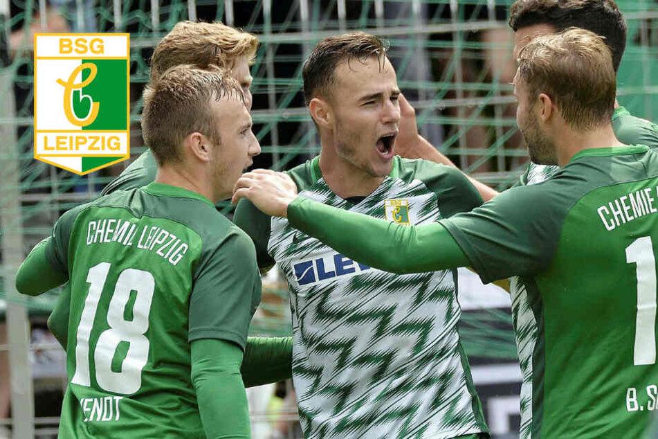 Heimsieg! Chemie Leipzig feiert ersten Dreier gegen Mitaufsteiger
