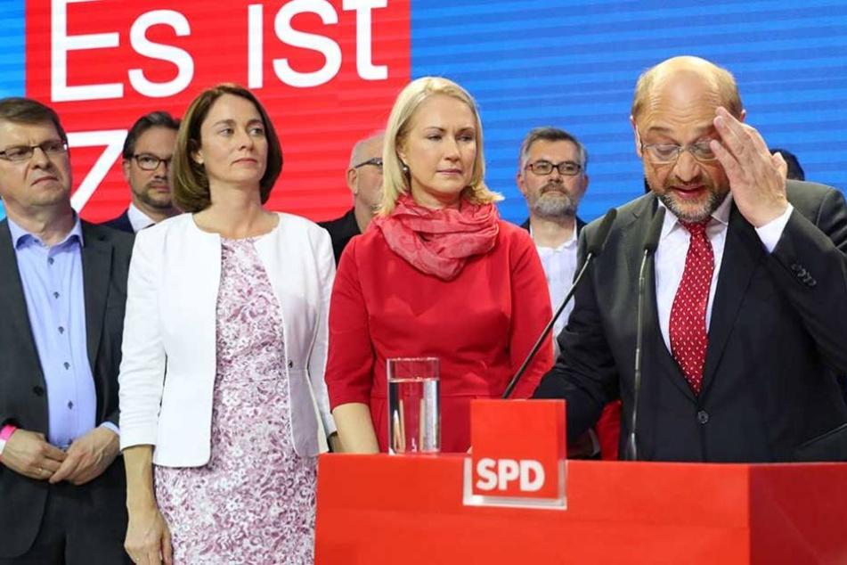 Martin Schulz holte für die SPD das schlechteste Nachkriegsergebnis.