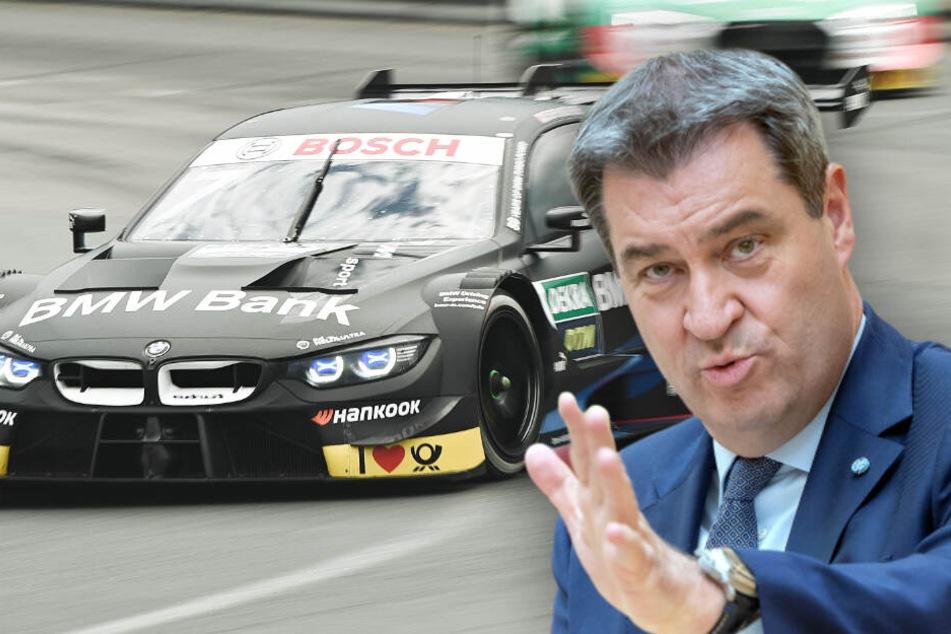 Söder spricht sich für künftige Autorennen auf Norisring aus