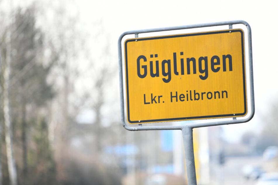 Die Bluttat spielte sich in Güglingen im Landkreis Heilbronn ab.