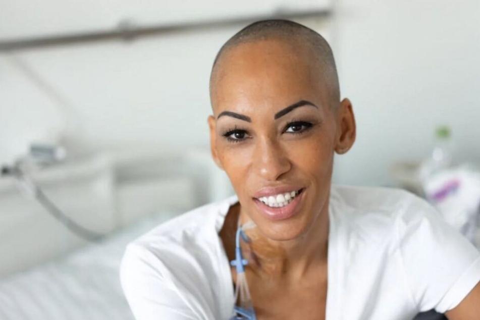 Die 41-jährige Astrid aus Frankfurt leidet unter einer besonders schweren Blutkrebs-Form: Akute myeloische Leukämie (AML).