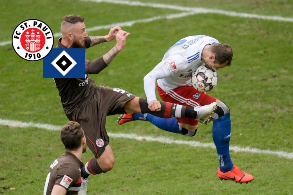 St. Pauli gegen HSV! So starten die Teams ins Hamburger Derby