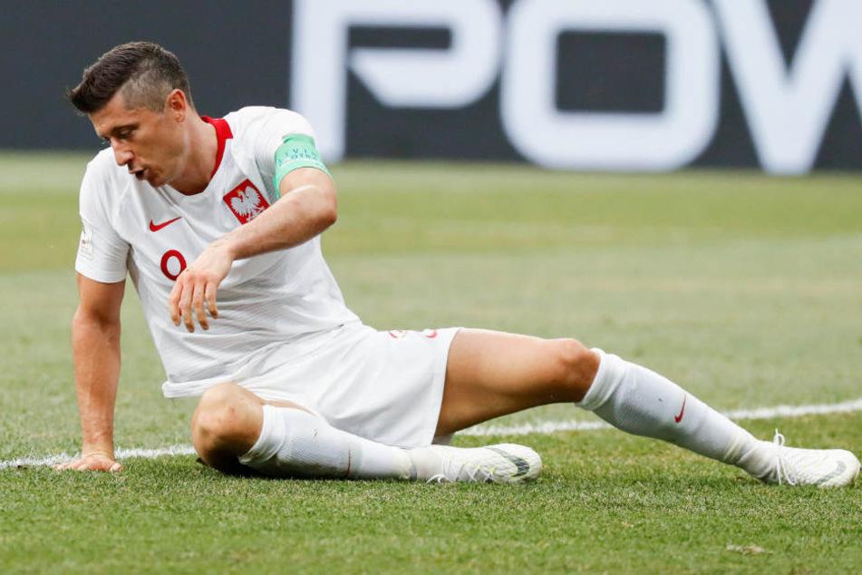 Robert Lewandowski konnte bei der WM in Russland nicht überzeugen.