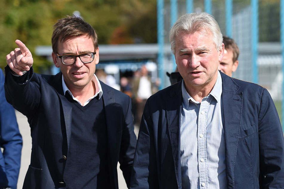 Markus Rejek (49) arbeitete schon mit Ex-Arminen-Coach Benno Möhlmann (63) bei 1860 München zusammen.