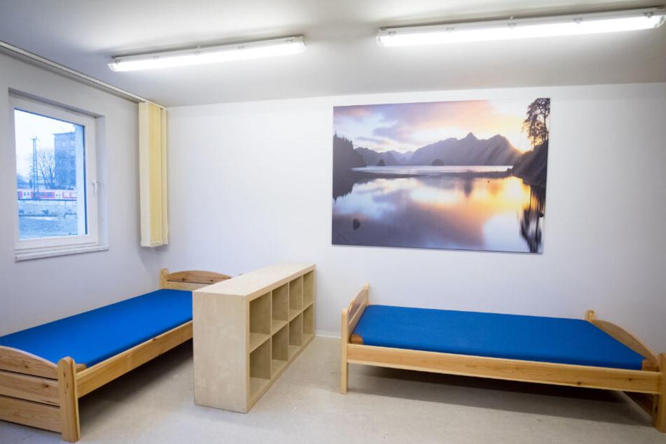 Die Zimmer in den Notquartieren bleiben vielerorts leer.