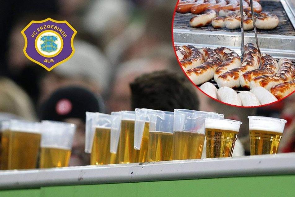 Bier und Roster für 5,50 Euro: Aue am günstigsten bei allen 36 Bundesligisten