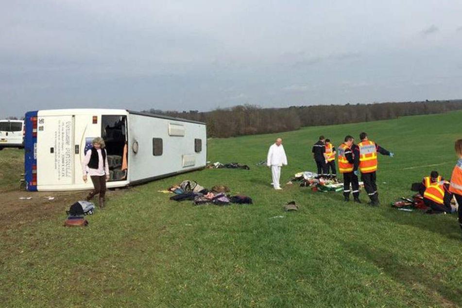 Der Unfall ereignete sich an einer Kreuzung bei Manciet.