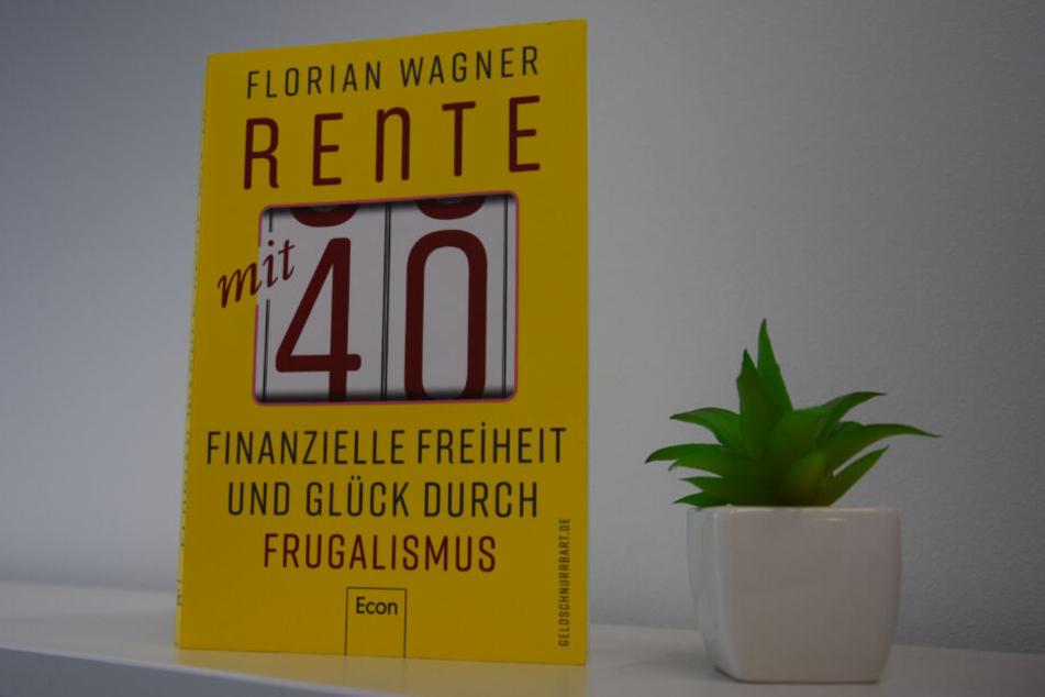 """Das Buch """"Rente mit 40"""" von Florian Wagner."""
