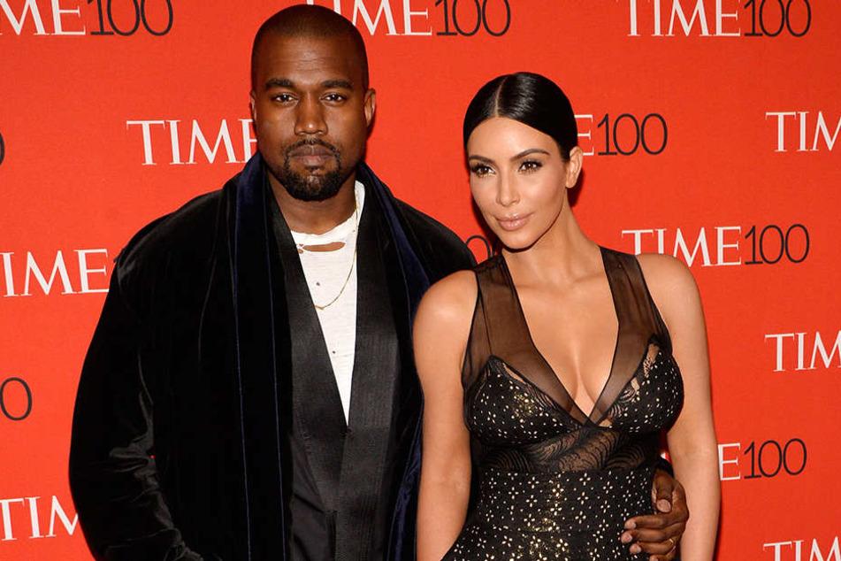 Kanye West und seine Frau Kim Karashian wollen immer im Mittelpunkt stehen.