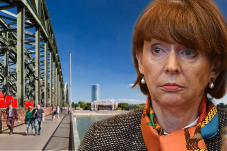 Die parteilose Politikerin ist bei der Wahl für den Aufsichtsratsvorsitz der Stadtwerke Köln gescheitert.