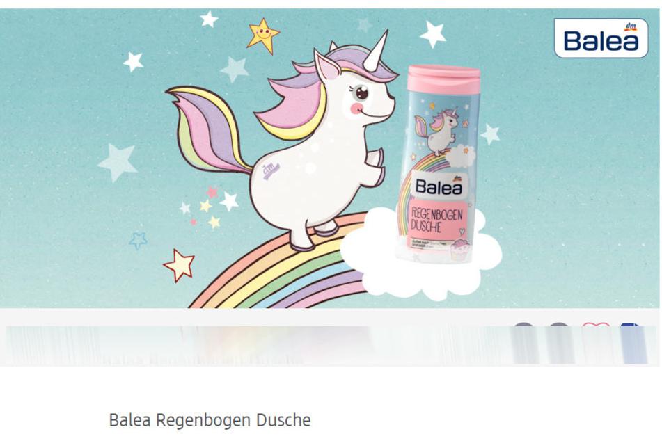 Die Balea Regenbogen Dusche ist limitiert!