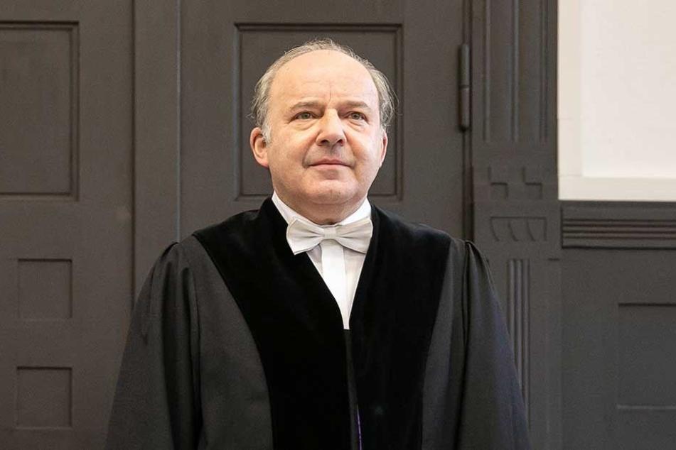 Richter Dirk Herlte (56) ordnete einen Lügendetektor-Test an.