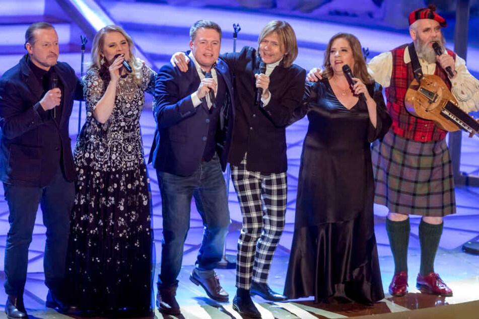 Die Kelly-Family bei einem früheren Auftritt.