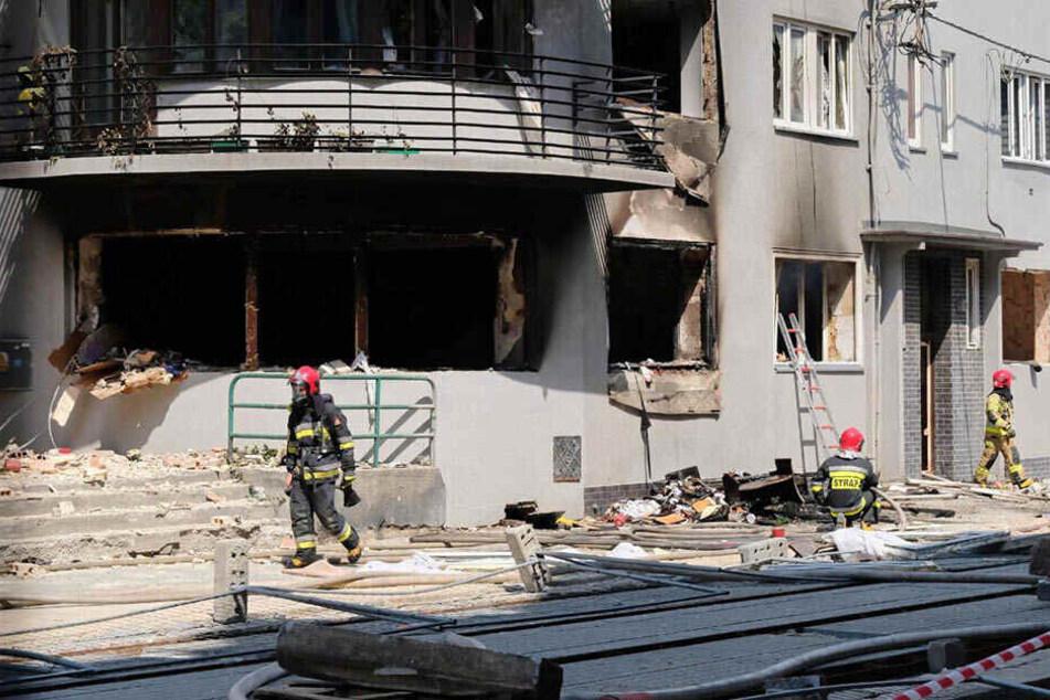Tragödie! Explosion in Wohnhaus: Mutter und Kinder sterben
