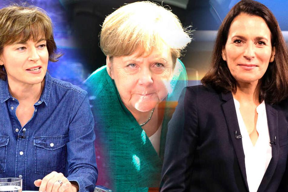 Am Donnerstag geht's bei ILLNER um Merkels Asylpolitik - am Sonntag dann bei ANNE WILL.