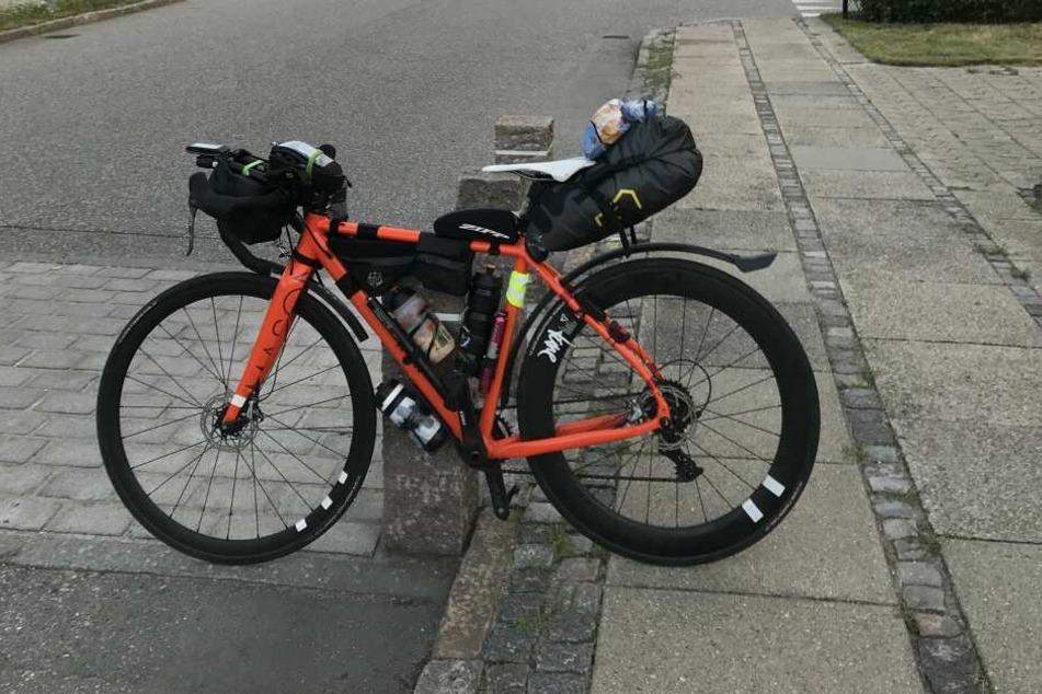 "Dieses teure ""Mason""-Fahrrad (5000 Euro) wurde in Oberwiesenthal gestohlen."