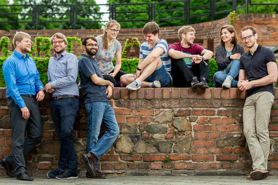 Das Team von Meetle werkelt täglich in der Chopinstraße im Leipziger Osten an der App.
