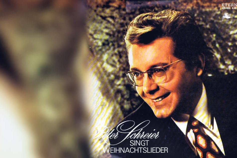 """Die Schallplatte """"Peter Schreier singt Weihnachtslieder"""" gehört in vielen Haushalten zum musikalischen Standard-Programm für die Festtage."""