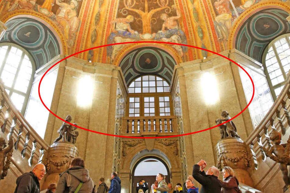 Die Lampen werden laut Stadtratsbeschluss für 330.000 Euro nachgebaut und  sollen bis zum März endlich hängen.