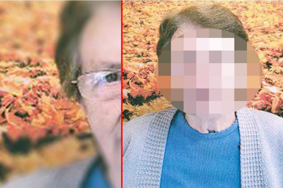 Inge (87) wird vermisst. Die Polizei bittet um Mithilfe.