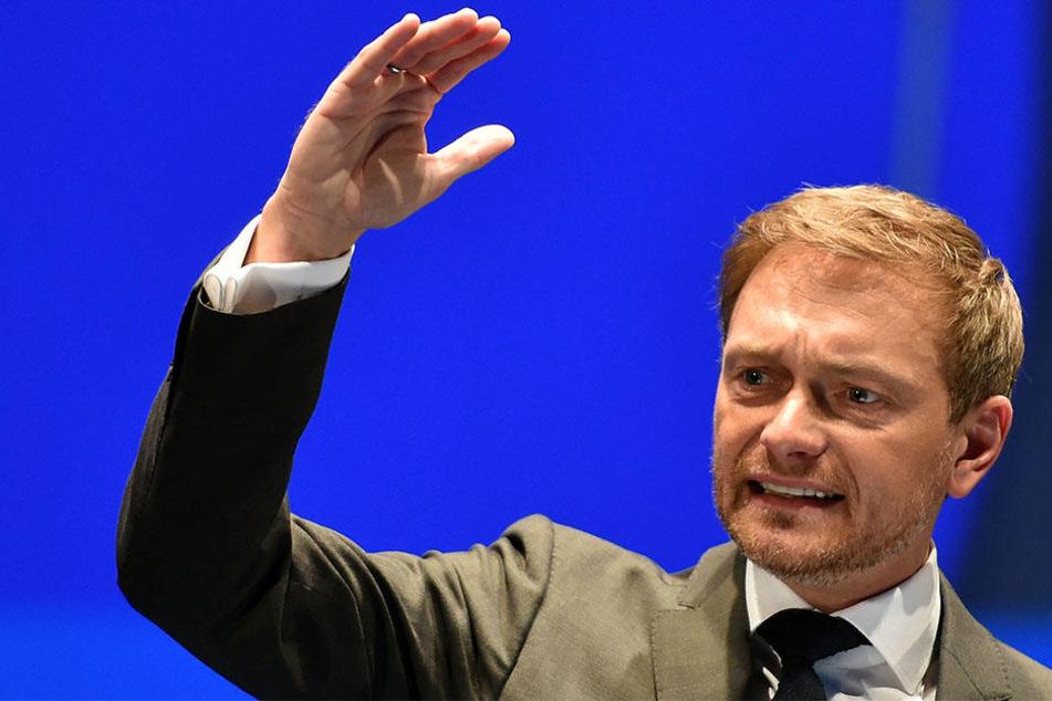 Christian Lindner (38) hat Visionen, wo die Reise der FDP hingehen soll.