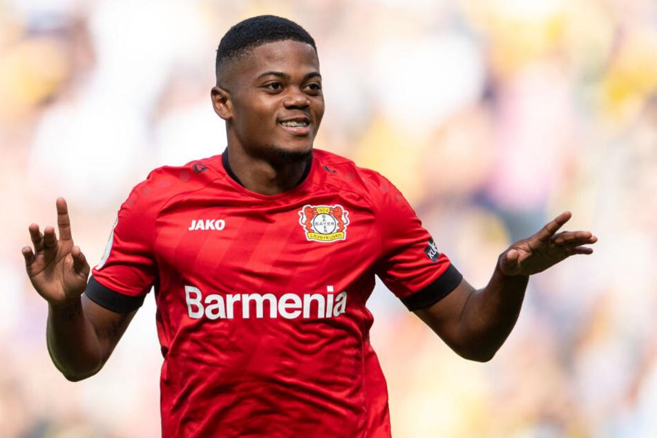 Der Jamaikaner Leon Bailey wechselte im Januar 2017 von KRC Genk zu Bayer 04 Leverkusen in die Bundesliga.