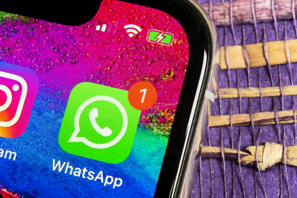 Vorsicht vor einer trügerischen WhatsApp-Nachricht! (Symbolbild)
