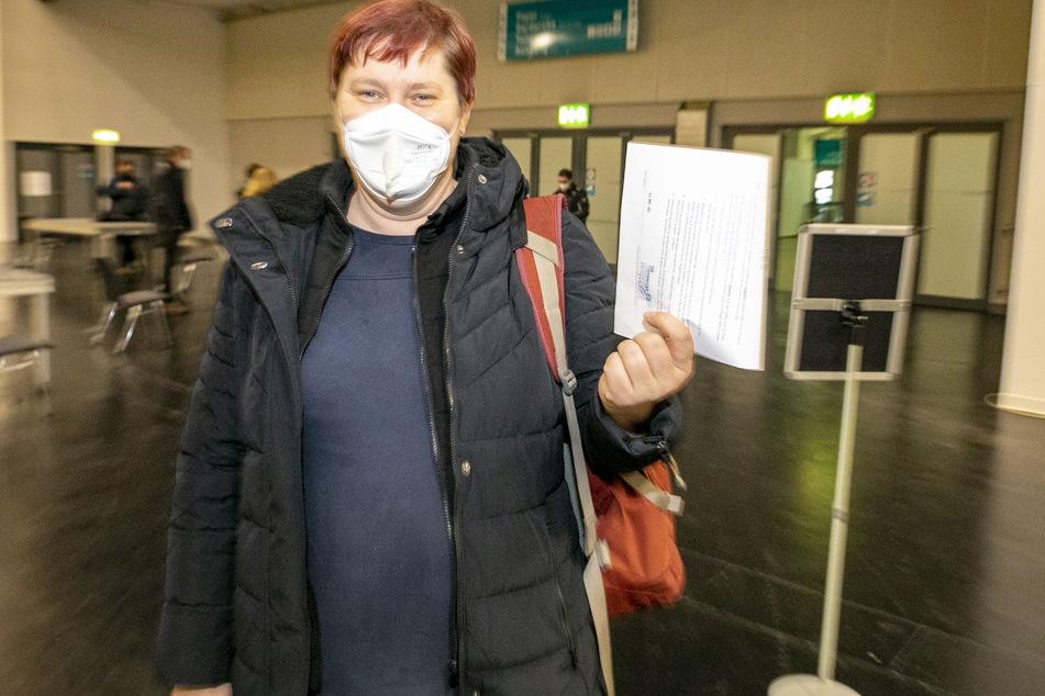 Für SPD-Chefin Dana Frohwieser (44) war der Test eine Selbstverständlichkeit.