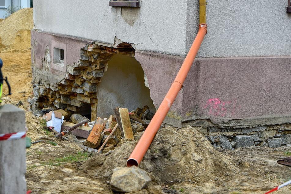 Der Mann konnte nicht mehr gerettet werden, er verstarb noch unter den Trümmern.