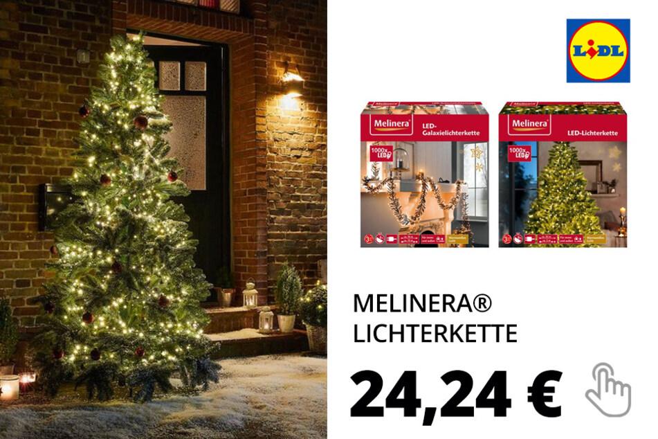 MELINERA® Galaxie-Lichterkette/ Lichterkette, 8 Modi