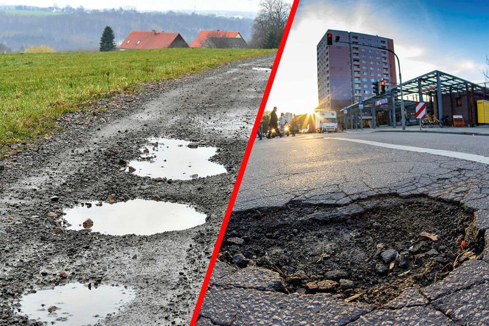 ADAC schlägt Alarm! Sachsen spart das Straßennetz zugrunde