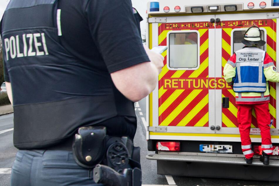 Unfall auf der A7 bei Kassel: Lastwagen rammt Transporter, ein Schwerverletzter