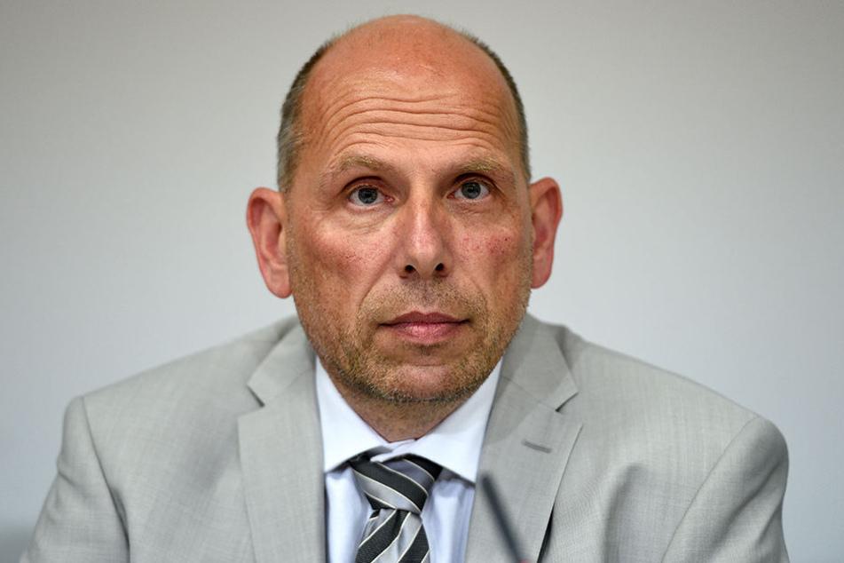 Carsten Pfohl, Leiter Qualifizierte Eigentumsdelikte beim Landeskriminalamt Berlin.
