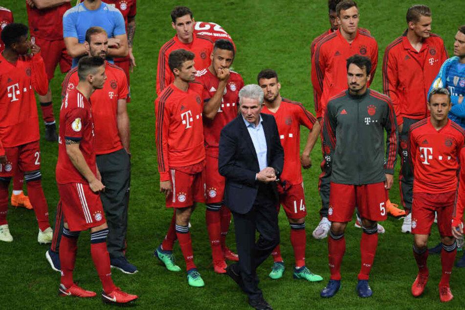 Den Abschied für Jupp Heynckes hat sich seine Mannschaft sich anders vorgestellt.