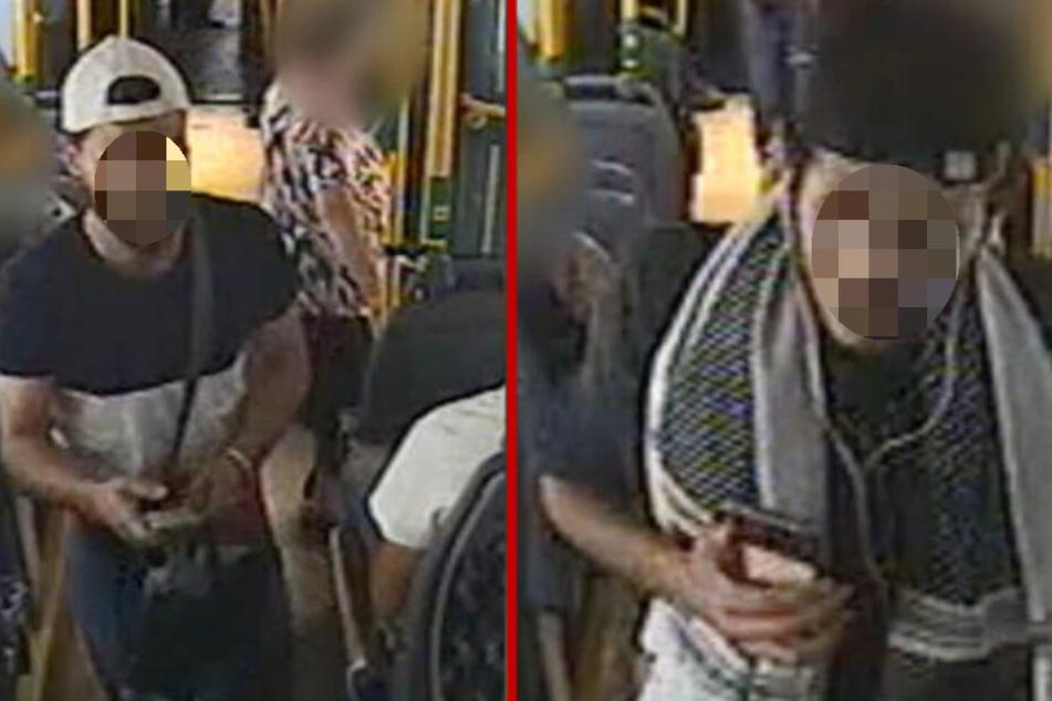 Diese beiden Männer wurden von der Polizei gesucht. Sie sollen eine Frau sexuell belästigt haben!