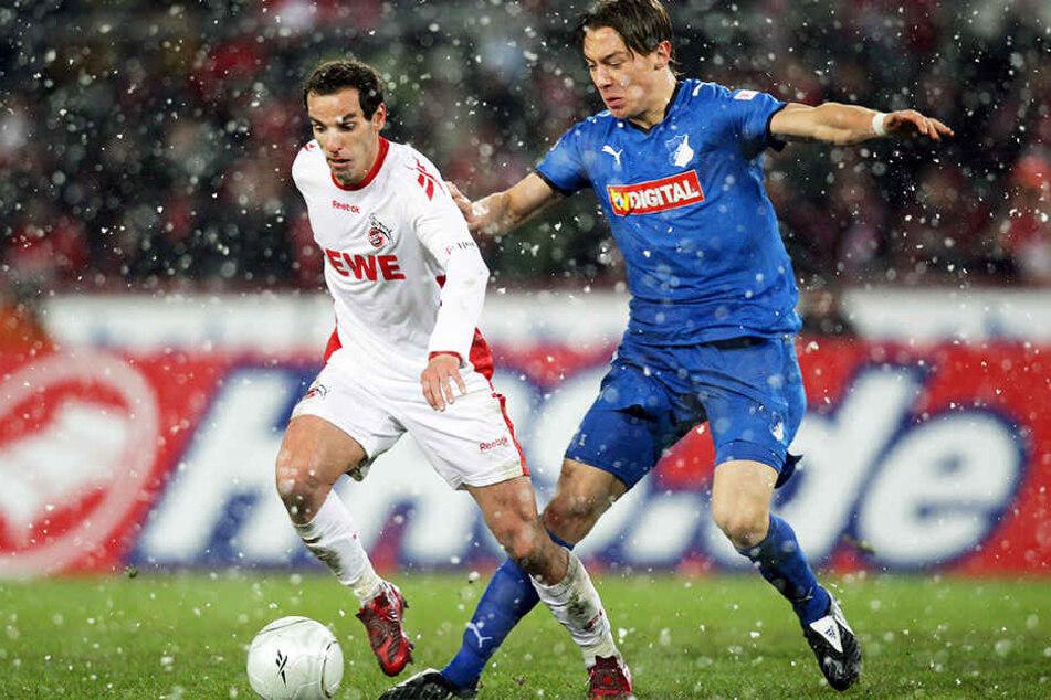 Matthias Jaissle (28, re.), früher selbst Bundesliga-Spieler bei 1899 Hoffenheim, kam 2014 zum RB Leipzig.