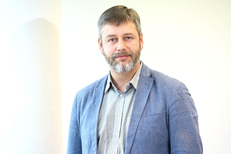SPD-Innenexperte Albrecht Pallas (38).