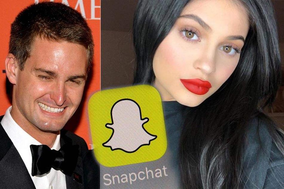 Lässt Evan Spiegel den Tweet von Kylie Jenner auf sich sitzen?