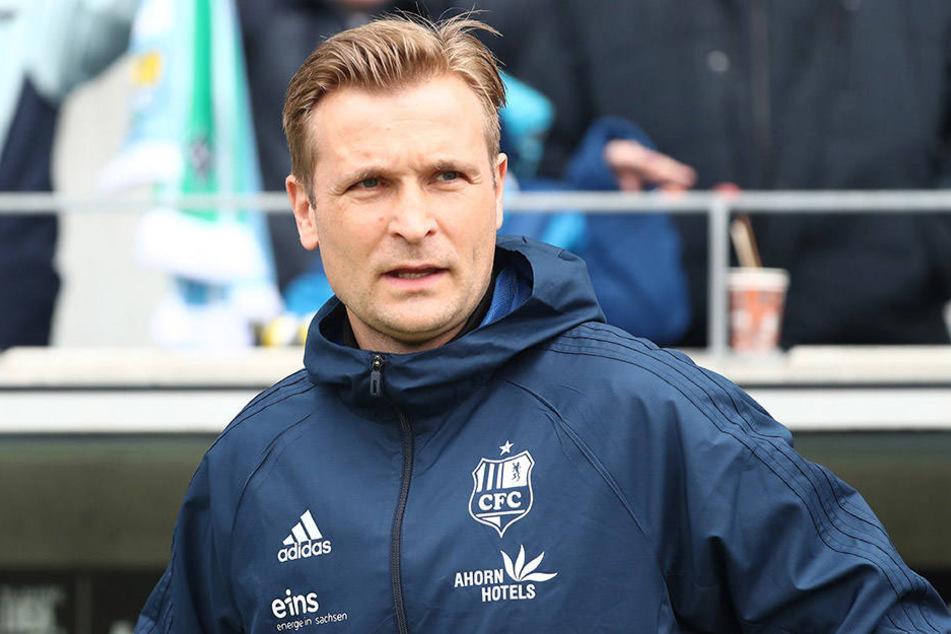 Ganze fünf Spiele durfte David Bergner die Erfurter als Coach betreuen.